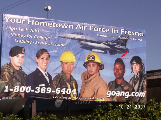Your Hometown Air Force in Fresno Advertisement